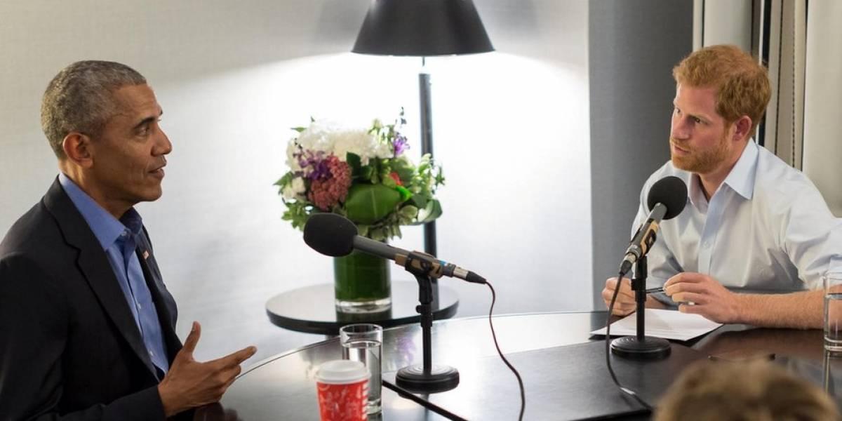 Em entrevista ao príncipe Harry, Obama diz que pessoas no poder devem ser cautelosas ao usar redes sociais