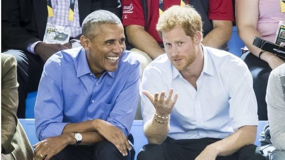 Obama e Harry