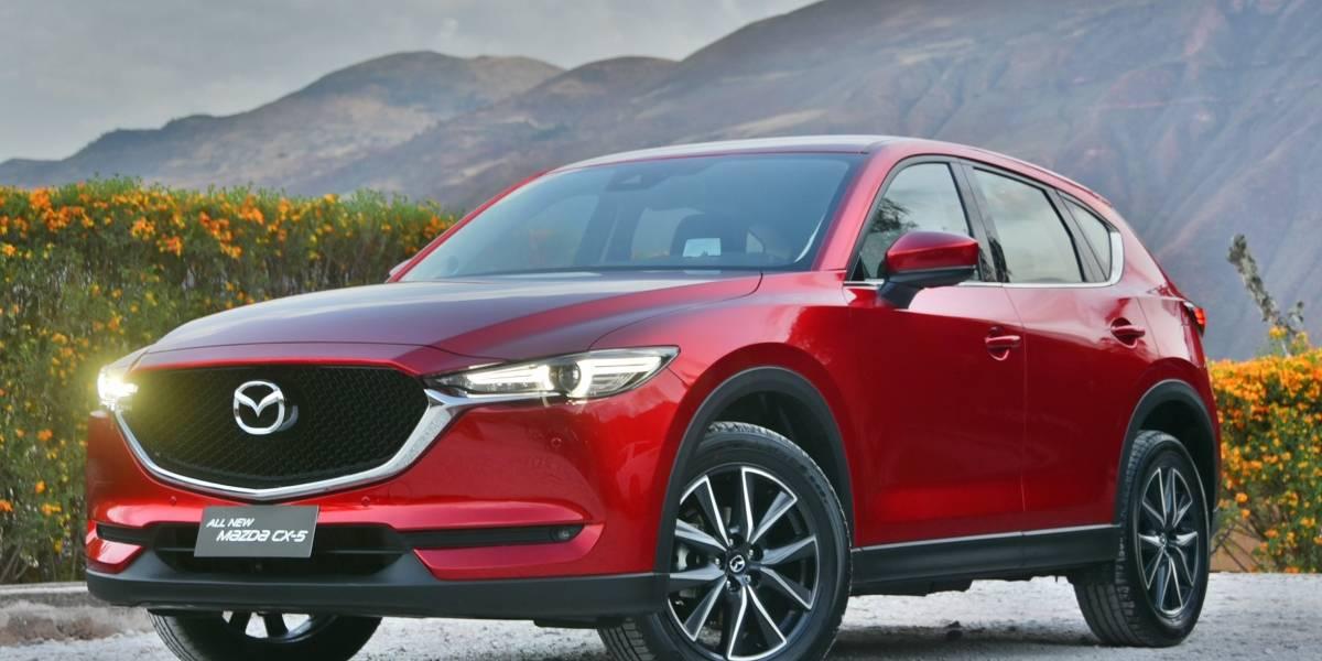 """El Mazda CX-5 es elegido como """"SUV de las Américas"""""""