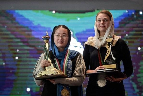 Campeona mundial de ajedrez