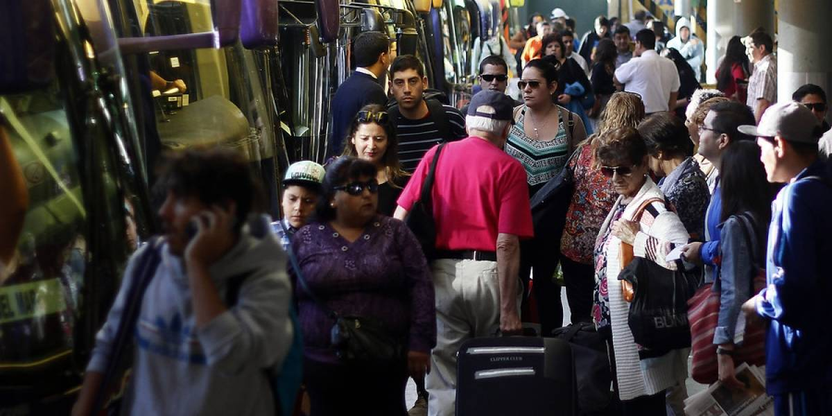¿Novedad? Precio de pasajes de buses interurbanos sube casi 32% promedio en previa de Año Nuevo