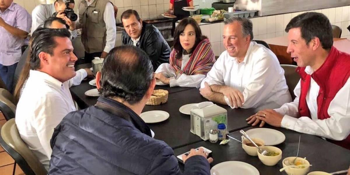 Meade se reúne con Miguel Castro, precandidato a gobernador de Jalisco