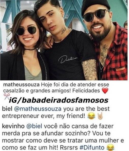 biel flavia pavanelli Matheus Souza