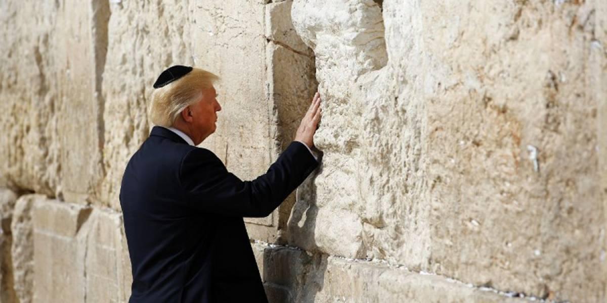 """Israel nombrará """"Donald John Trump"""" a estación de tren que construye en Jerusalén"""
