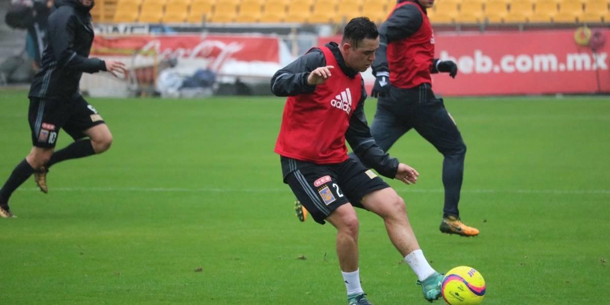 FOTO: Se incorpora Israel Jiménez a entrenamientos con Tigres