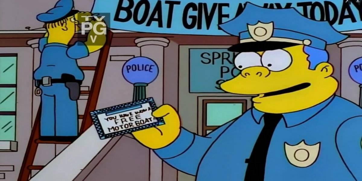 Policiais enganam ladrões no melhor estilo de 'Os Simpsons'