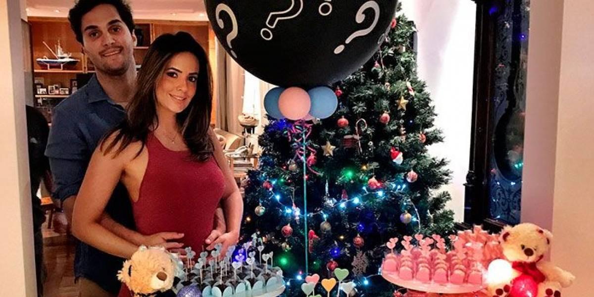 Paloma Tocci anuncia o sexo do seu bebê