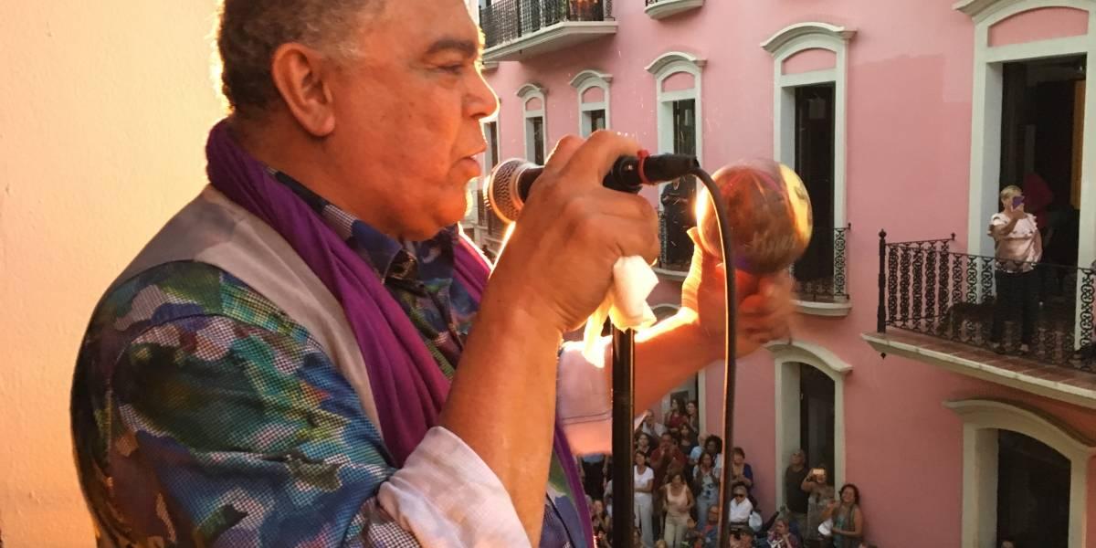 Danny Rivera en abrazo musical con su pueblo