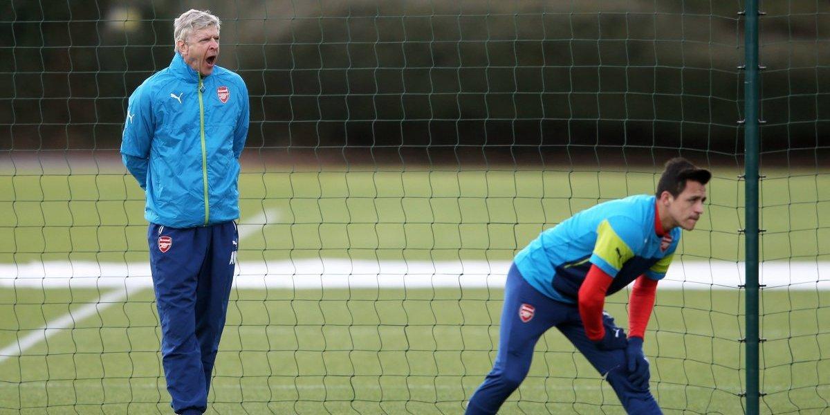 """Wenger repite como loro: """"Alexis pasará enero, no hay dudas, seguirá hasta final de temporada"""""""