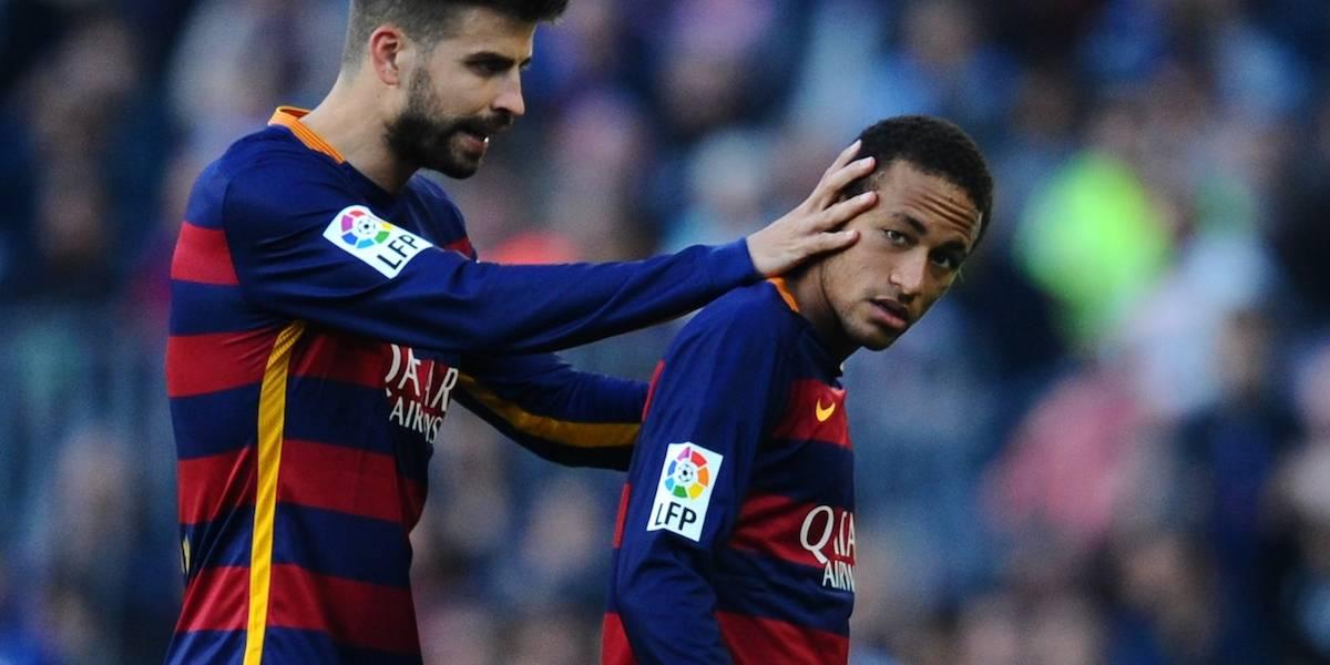 VIDEO: Neymar recuerda su fractura de columna en entrevista con Piqué