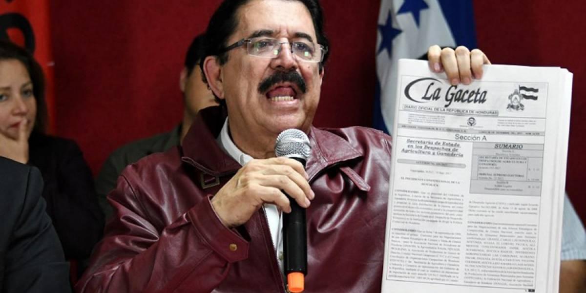 """VIDEO. Oposición hondureña interpone """"nulidad"""" por """"fraude"""" contra atribución de elección"""