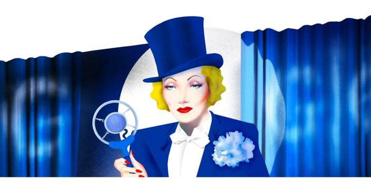 ¿Por qué Marlene Dietrich aparece en el Doodle de Google?