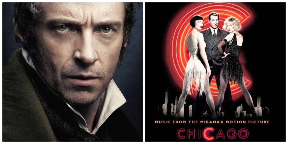 Top 5 de películas musicales más exitosas