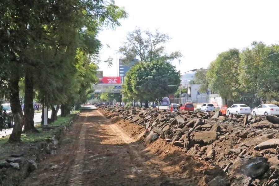Reencarpetamiento de López Mateos desquicia la vialidad en la ciudad