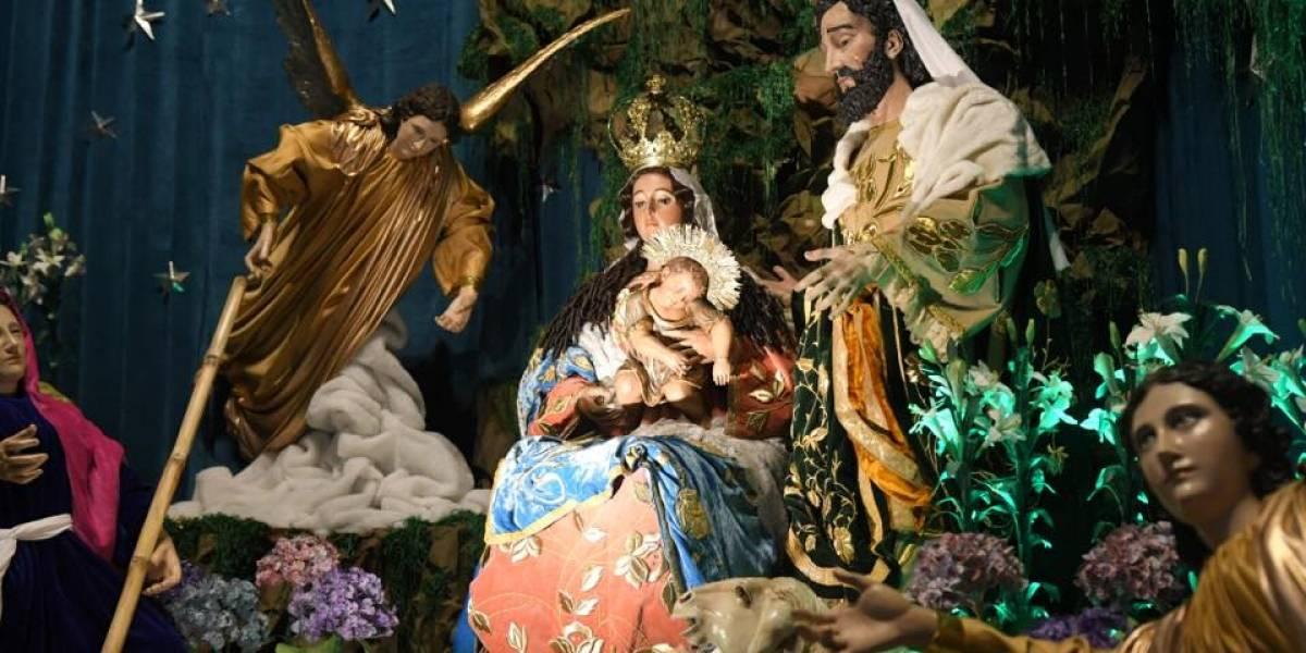 EN IMÁGENES. ¡Hermosos! Los nacimientos de iglesias del Centro Histórico