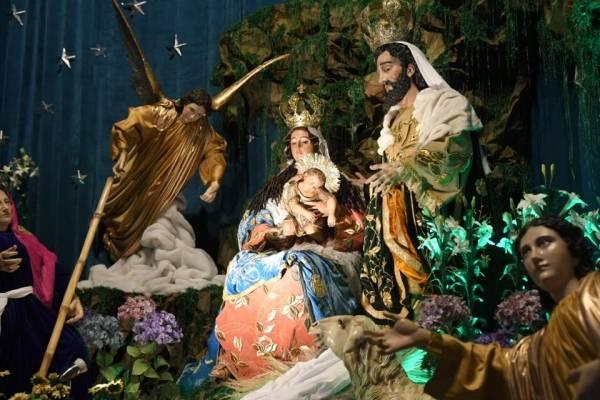 Nacimiento de Santo Domingo