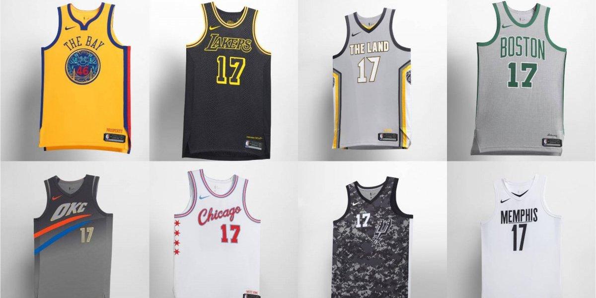 Nike presenta nueva edición de uniformes NBA