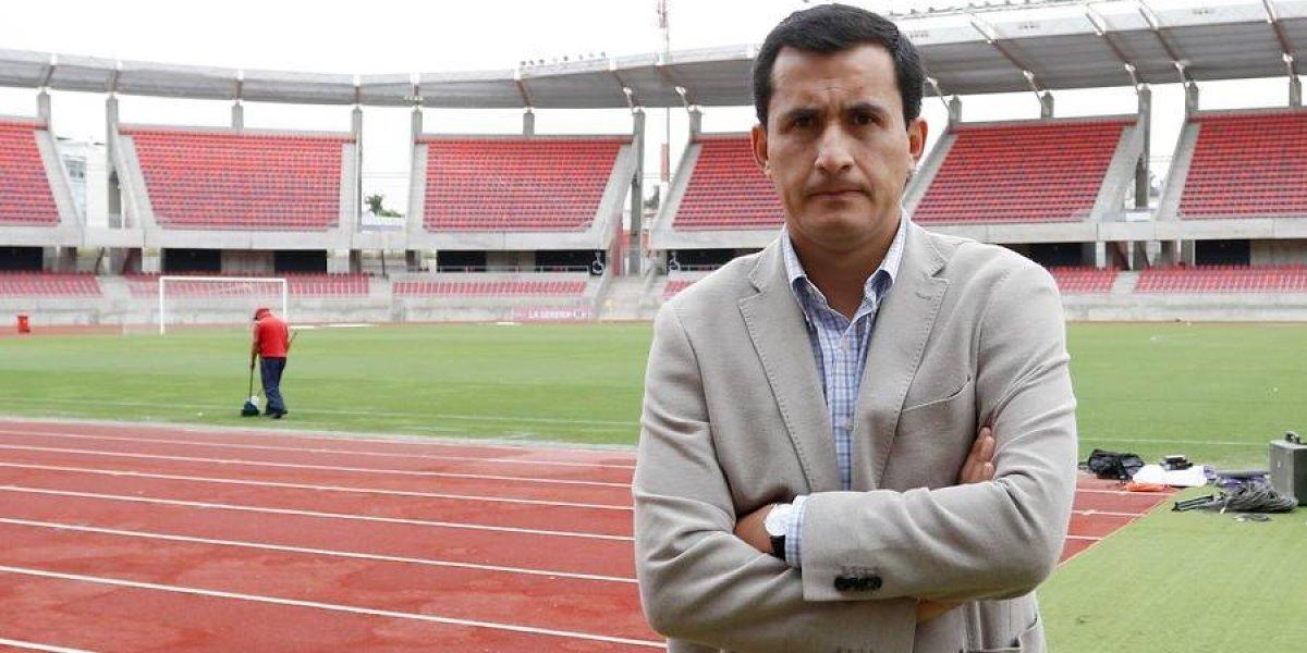 """Enrique Osses le avisa a Gamboa: """"Los errores se pagan y determinaremos un castigo justo"""""""