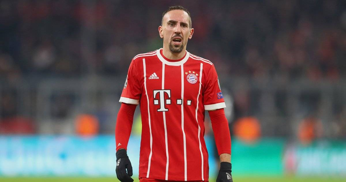 Frank Ribéry, atacante do Bayern de Munique Alexander Hassenstein/Bongarts/Getty Images
