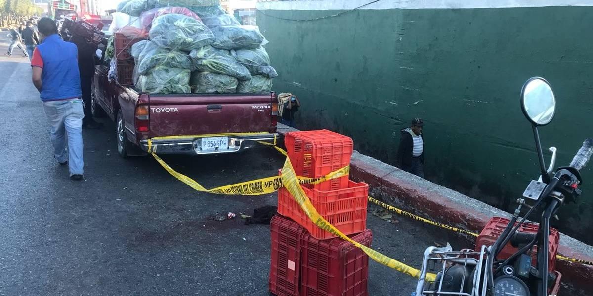 Asaltan a vendedor de verduras y lo hieren con arma blanca