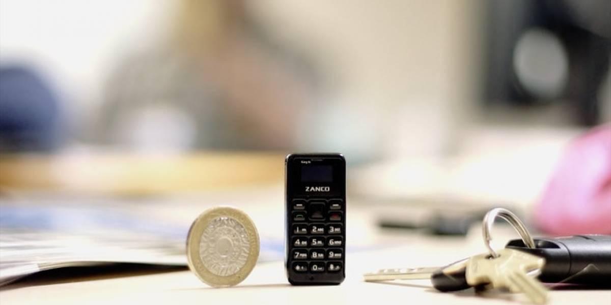 Zanco Tiny T1,  el celular más pequeño del mundo