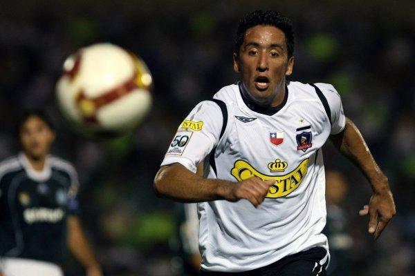 Lucas Barrios fue tajante, pero en Colo Colo no se preocupan / imagen: AFP