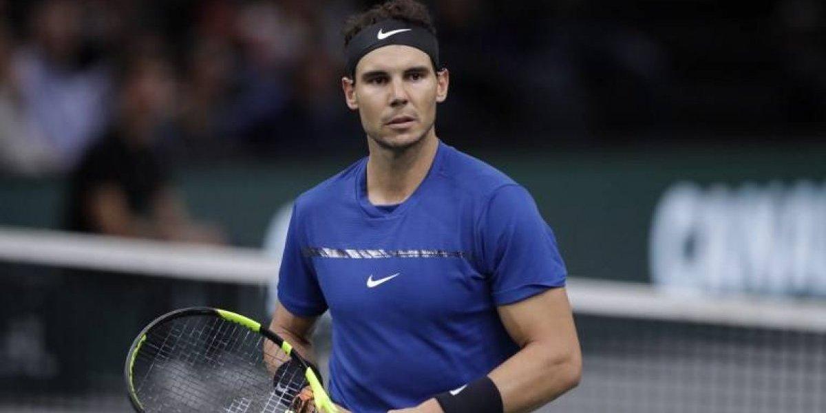 Rafael Nadal sigue lesionado y pone en duda su participación en Australia