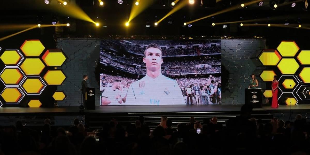 Cristiano le volvió a ganar a Messi: fue elegido el mejor futbolista del 2017 en premios Globe Soccer