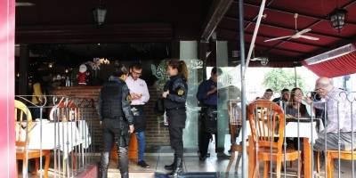 Implementan operativo policíaco en calles de Providencia