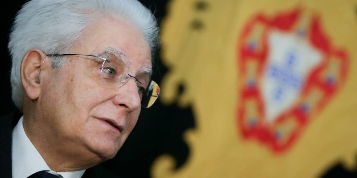Presidente de Italia disuelve el Parlamento y convoca a elecciones