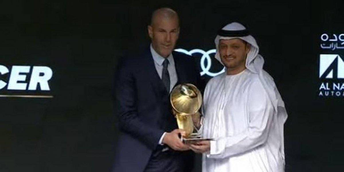 """Real Madrid recibe el premio al mejor club de 2017 en """"Globe Soccer Awards"""""""