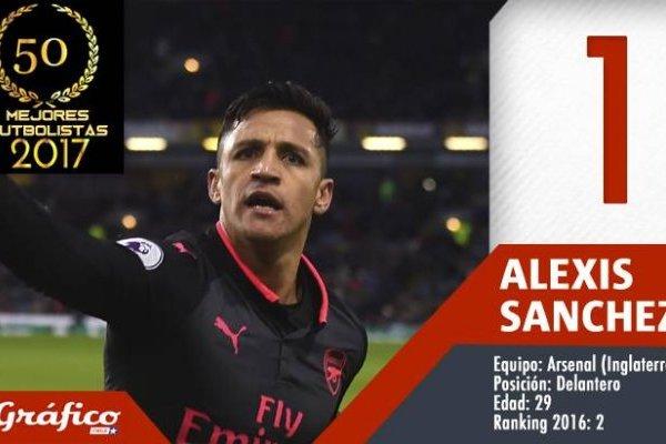 Alexis Sánchez destronó a Arturo Vidal