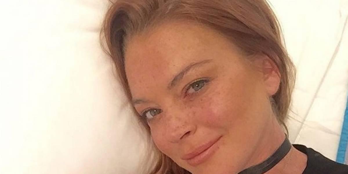 Lindsay Lohan fue mordida por una serpiente durante sus vacaciones
