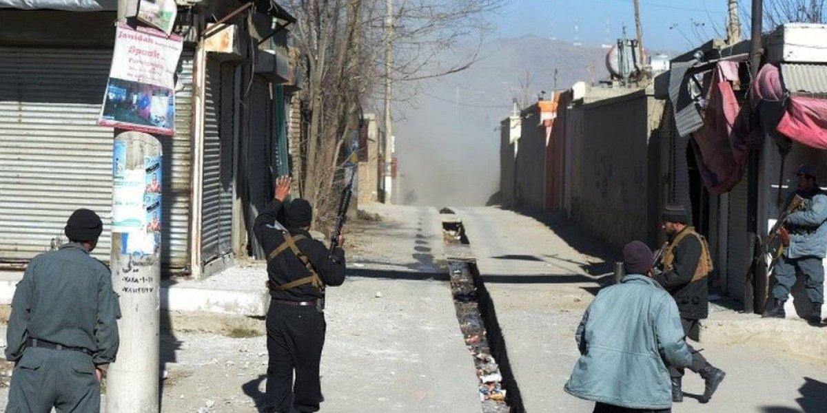 Ataque terrorista en Afganistán empaña despedida del 2017