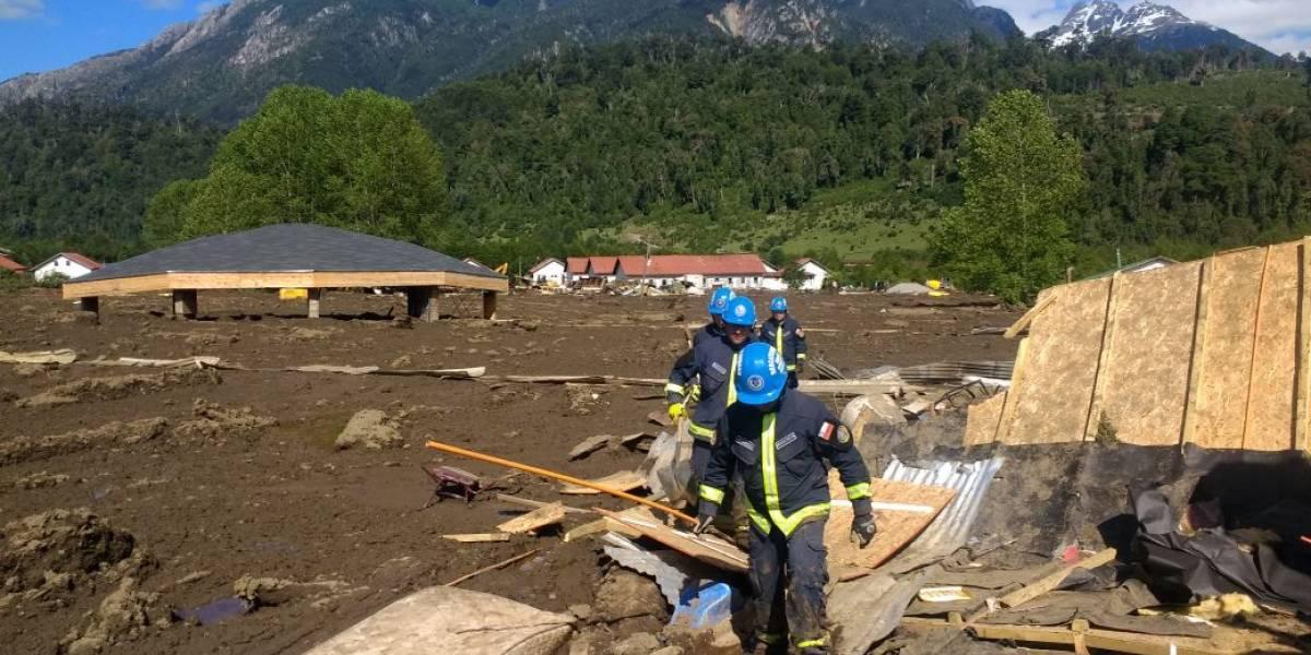 Aluvión fue equivalente a 3 cerros Santa Lucía, según Subsecretaría del Interior