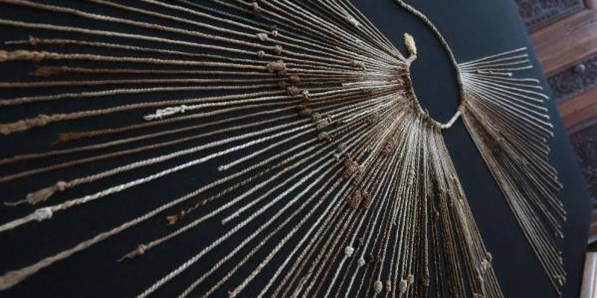 Joven estudiante habría conseguido descifrar el código perdido de los quipus incas