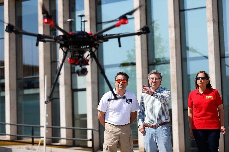 Drones en Las Condes