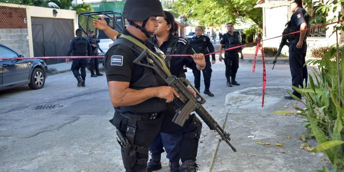 Ataque a casa en Cancún deja cuatro personas heridas