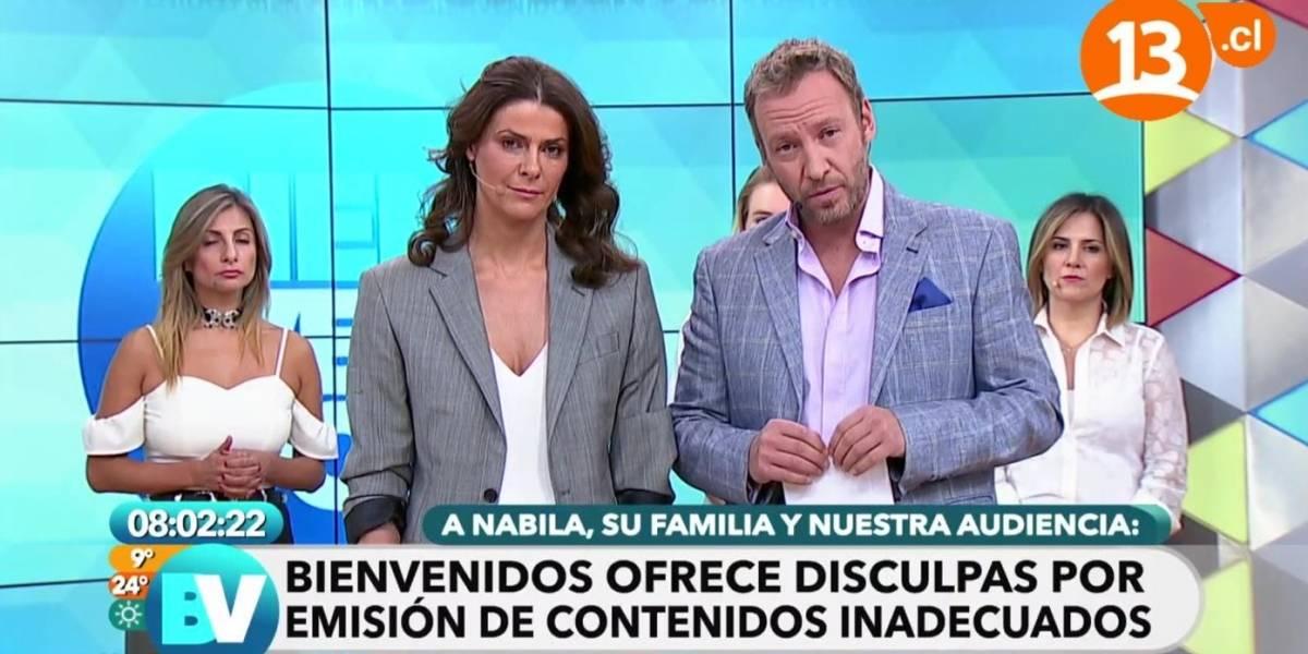 Nabila Rifo demanda a Tonka Tomicic, al ex director de Bienvenidos y a Canal 13 por daño moral