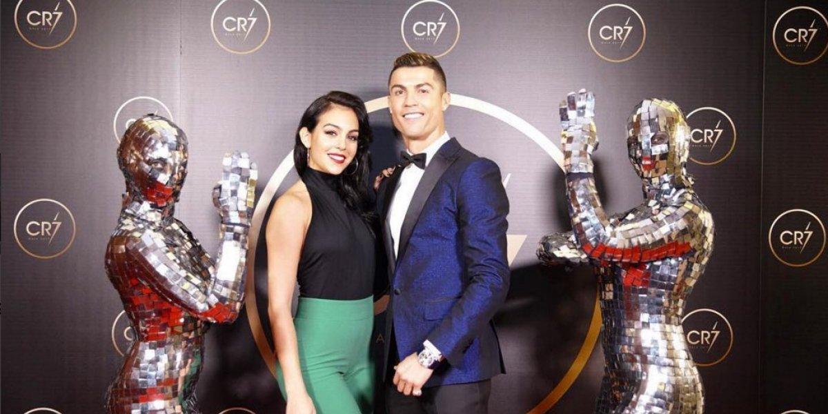 Cristiano Ronaldo crea su propia gala y Georgina Rodríguez luce espectacular