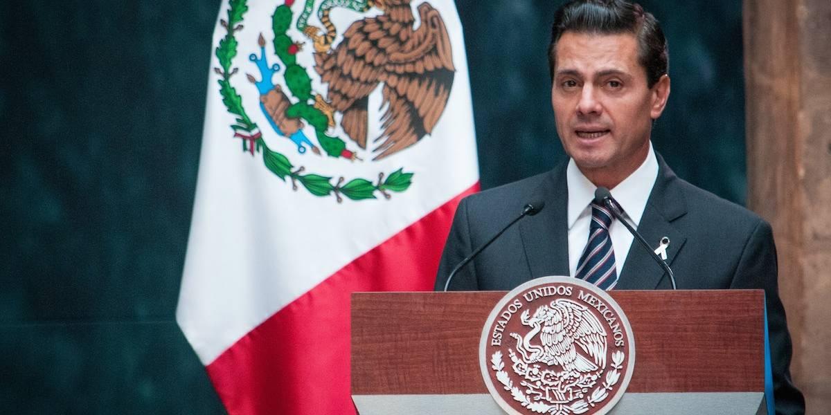 Los momentos más importantes de Peña Nieto en 2017