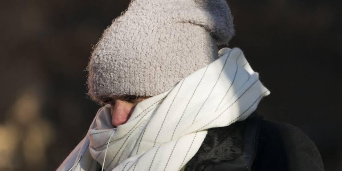 Este lunes es el día más frío de lo que va de 2018