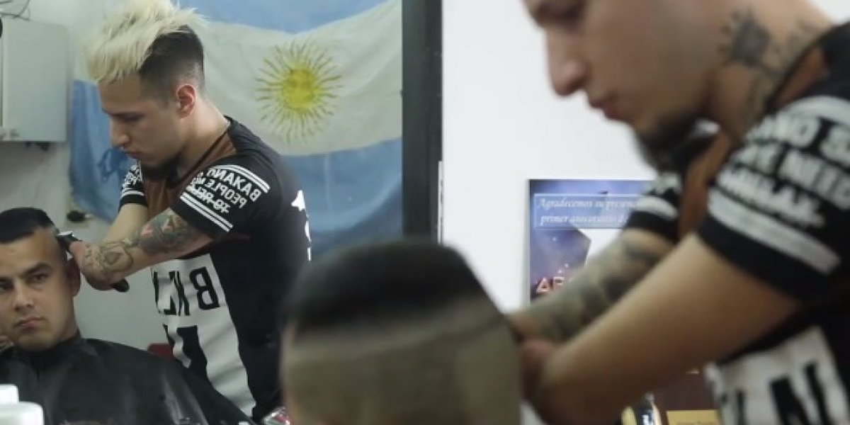 Jovem sem mãos é o melhor barbeiro da Argentina; conheça a sua história