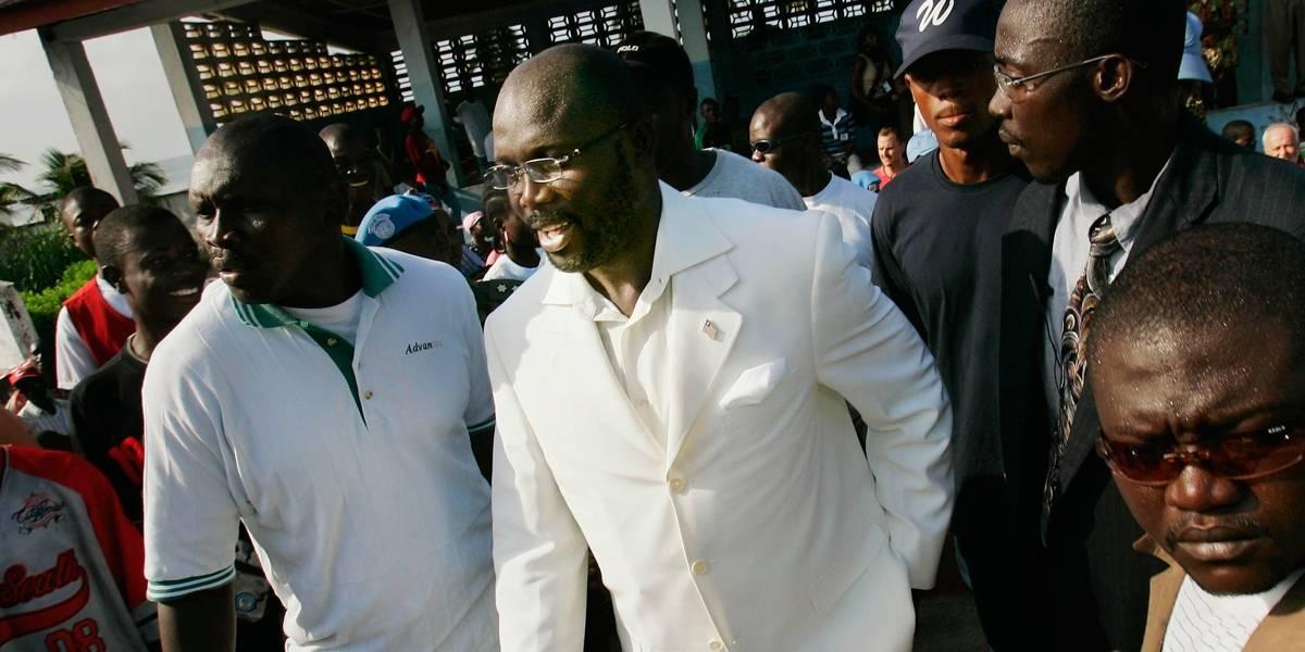 George Weah: o jogador que virou presidente da Libéria
