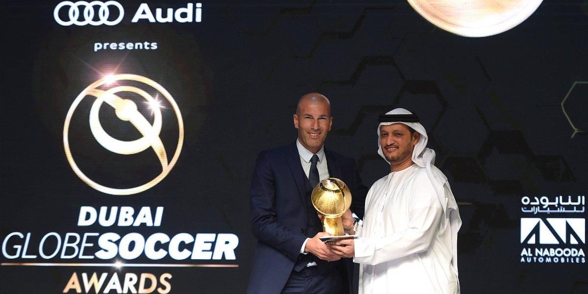 Los premios más extraños otorgados en los Globe Soccer Awards