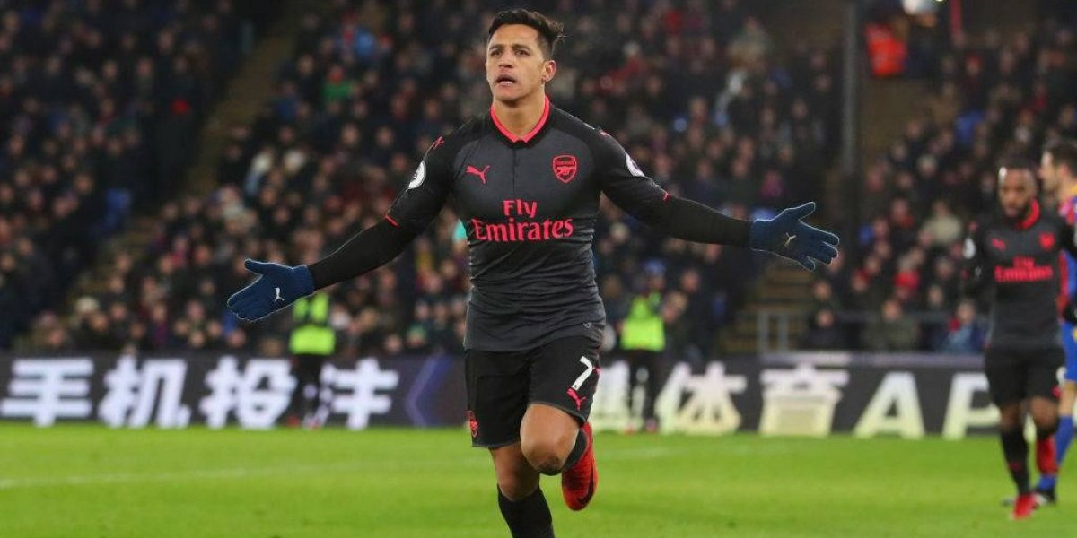 Alexis Sánchez dio otro recital de fútbol y goles en la Premier League