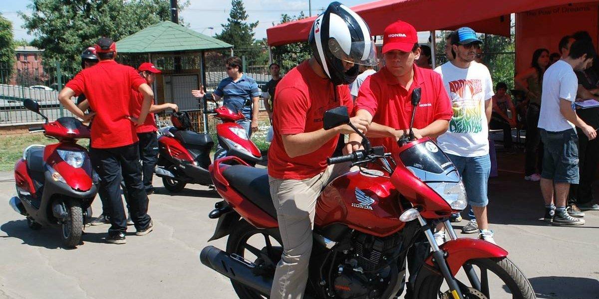 Honda organizará cursos gratuitos de manejo de motos