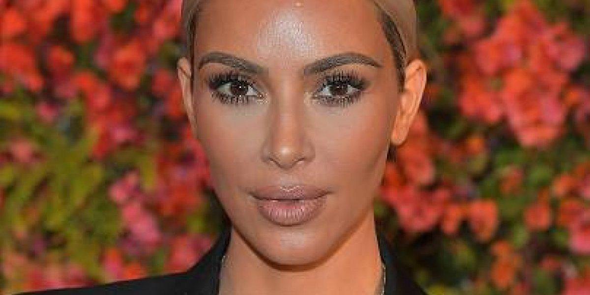 Kim Kardashian sorprende con un nuevo look de cabello que jamás había usado