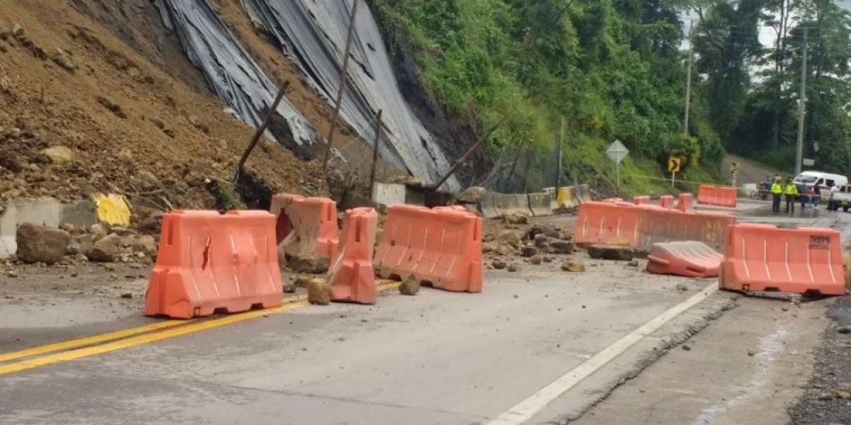 Cuándo se reabrirá la vía Bogotá - La Mesa, cerrada por caída de rocas