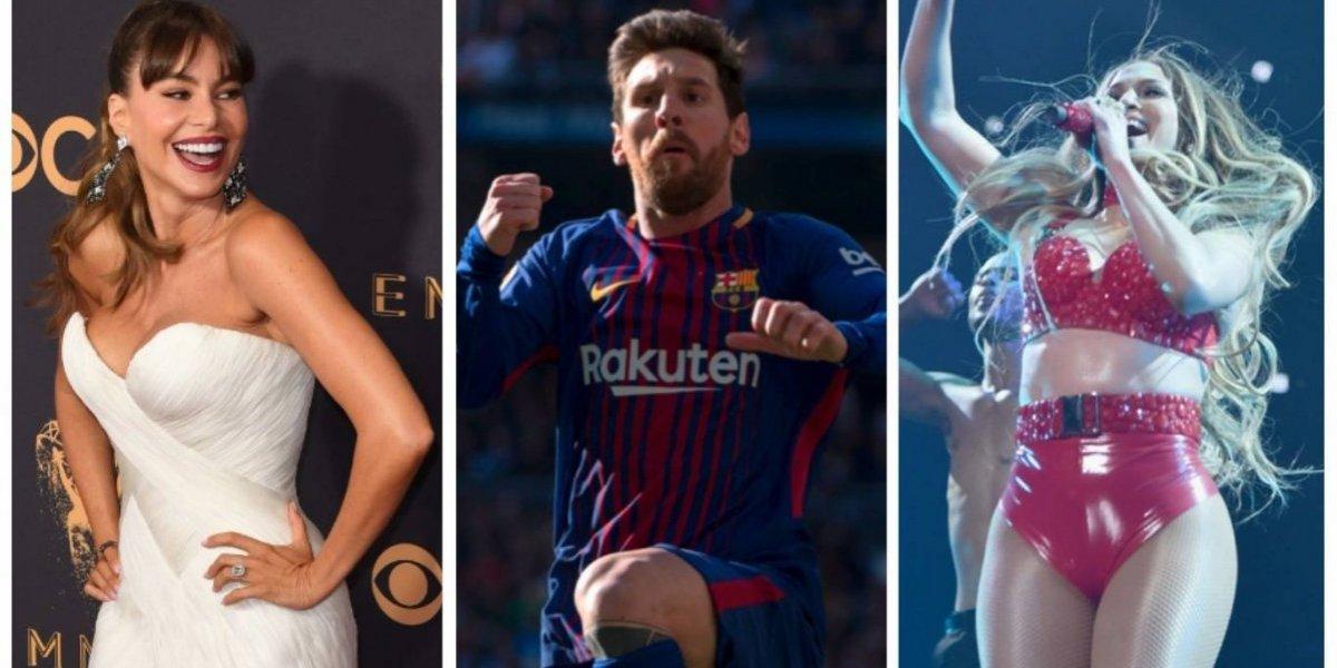 Messi y Sofía Vergara, entre los latinos mejor pagados de 2017